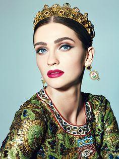 Кабы я была царица: Пэт Макграт о византийском макияже Dolce & Gabbana