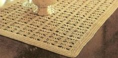 Easy Table crochet Runner pattern  | ... Ribbon Roses: Spider Web Crochet Pattern..for Tablecloths or Runners