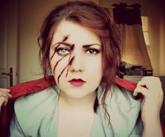 Little Red Riding Hood by Liv Morley MUA, via Flickr