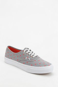 Vans Authentic Chambray Polka Dot Women's Sneaker, $55