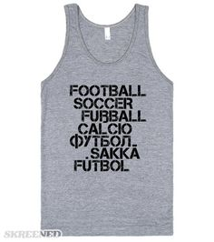 sneakers for cheap 00dee be3ff World Cup Languages   Tank Top   SKREENED