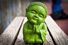 namaste.....this little guy makes me feel happy;)