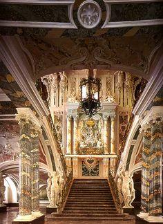 Bathasar Neumann: portaikko Augustusburgin linnassa, 1740-luku