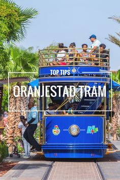 What's the best way to go around Aruba's capital? Try the tram! The tram is the best way to sight-see and explore Oranjestad!