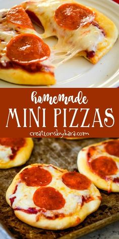 Mini Pizza Recipes, Meat Recipes, Cooking Recipes, Recipes With Pizza Sauce, Low Carb Veggie, Easy Homemade Pizza, Dinner Recipes Easy Quick, Recipes Dinner, Cauliflower Crust Pizza