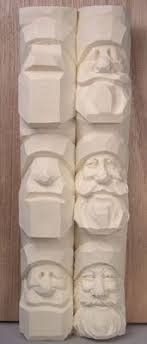 New wood art sculpture crafts 19 Ideas Wood Carving Faces, Wood Carving Designs, Wood Carving Tools, Wood Carving Patterns, Wood Patterns, Whittling Projects, Whittling Wood, Dremel Projects, Wood Projects