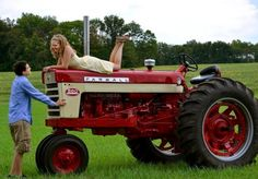 Jeremy Lemmons and Hannah Conklin were excited to have a cousin, Courtney Jo Lemmons, take their engagement pictures for their upcoming wedding. The tractor is an antique Farmall that belonged to Jeremy's great-grandfather. It was purchased in 1959, given to Jeremy by his great-grandmother when she passed away in 2001 and restored by Jeremy and his father in 2009.