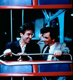 (1976) John Cassavetes as Nicky and Peter Falk as Mikey, in Mikey and Nicky.