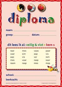 Het Veilig en Vlot diploma Dutch Language, Creative Teaching, Literacy, Learning, Kids, Homework, Exercise, The Hague, Projects