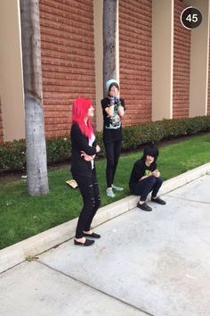 Alex Dorame, Johnnie Guilbert, and Kyle David Hall <<< I'm so jealous of whoever took this photo