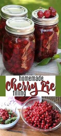How to make delicious homemade cherry pie filling from fresh sour cherries! Use … How to make delicious homemade cherry pie filling from fresh sour cherries! Use your cherry pie filling tons of recipes. Sour Cherry Jam, Sweet Cherry Pie, Sour Cherry Jelly Recipe, Cherry Uses, Tart Cherry Pies, Canning Cherry Pie Filling, Homemade Cherry Pies, Canned Cherries, Cupcakes