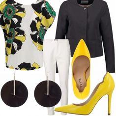 Outfit Maglia fantasia