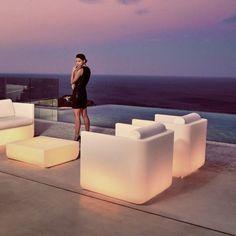 Canape BLOW Sofa Laque par Vondom   ⌂ Salon de Jardin Extérieur ...