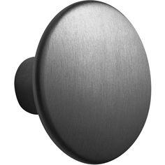 The Dots Metal Knagg Large, Sort - Muuto @
