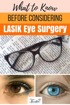 If you're considering ditching your glasses and/or contacts and thinking about LASIK eye surgery, read these 6 things to consider before planning surgery, including having a free consultation. #Lasik #EyeSurgery #Vision #Clearview