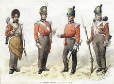 Richard Simkin (British, Uniforms of the West Kent and later Queen's Own Regiment; a collection of fourteen variously signed and inscribed watercolour all measuring approximately x x Global Art, Art Market, Fine Art, 50th, Artist, Pictures, Painting, Watercolour, Queens