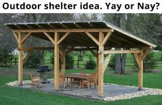 Wood Profits - My Shed Plans - Possible project - Now You Can Build ANY Shed In . Wood Profits - My Shed Plans - Possible project - Now You Can Build ANY Shed In A Weekend Even If Youve Zero Woodworking Experience! Discover How You . Outdoor Spaces, Outdoor Living, Outdoor Kitchens, Simple Outdoor Kitchen, Gazebos, Arbors, Outdoor Shelters, Camping Shelters, Diy Shed Plans