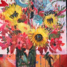 Big Blooms Wild Painting Class from Lynn Whipple | Carla Sonheim