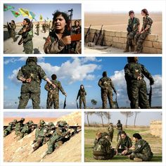 #InTheNews #Syria  If you think (or strongly believe) a Lady's place is (or should be) restricted to kitchen and household chores this is an utterly upsetting development for you.  Syrian Democratic Forces (SDF) an alliance of local militias supported by a US-led coalition recently gave training to a batch of 210 female soldiers as part of an on-demand military preparation to take on ISIS in battle for Raqqa.  During a 15-day armed combat course these women were taught weapons handling…