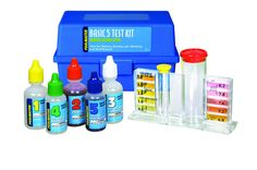 Pools Swimming Pool Test Kits With Basic 5Test Kit To Maintain The Proper Water Chemistry In The Pool Also Includes For Clear View Round Test Block  The Right Steps To Use Swimming Pool Test Kits