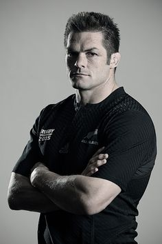 Richie Mccaw Photos - New Zealand All Blacks Rugby World Cup Squad Portrait Session - Zimbio