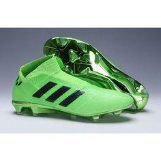 huge discount 6bcef 4d830 Adidas Nemeziz 18+ Spectral Mode FG Mens Football Boots - Green Black visit  us
