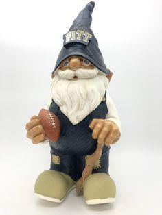 Pitt panthers team mascot gnome orig box on Mercari Panthers Team, Pitt Panthers, Jerome Bettis, Team Mascots, Bobble Head, Champs, Gnomes, Captain Hat, Box