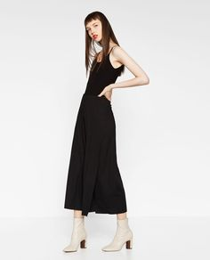 Image 1 of DOUBLE-LAYER TROUSERS from Zara