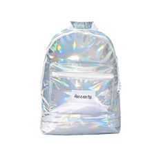 Have A Nice Trip Backpack in Silver Metallic | NYLON SHOP
