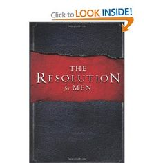 This book is used for the men.  We are wanting to grow mature, strong chirstian men, husbands, and fathers that will produce a godly legacy thru loving and serve our wives, kids, church, and our communities.  Practical ways to grow in Chirst
