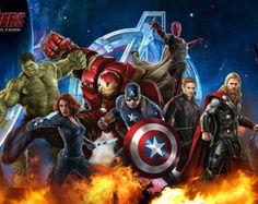 Painel Festa Vingadores Avengers 100x150