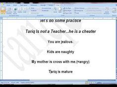 Present Simple Part Six State Verbs by tariq aziz