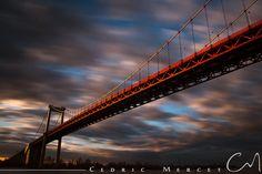 Pont d'Aquitaine (Bordeaux) Pont D'aquitaine, Tramway, Bordeaux France, France Europe, Golden Gate Bridge, Explore, Travel, Public Transport, Bridges