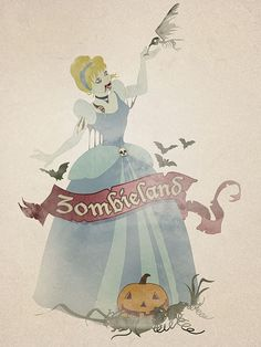 Cinderella by [DreiKo], via Flickr - check out the others - SUPER CREEPY!