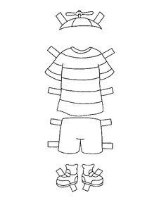 Disegni da colorare per bambini. Colorare e stampa Caillou 10