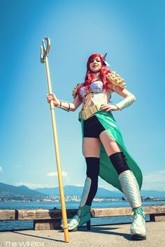 ARIEL (THE LITTLE MERMAID) Disney Princesses Are Ready For Battle In These Ferocious Cosplay Costumes