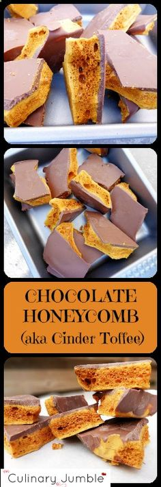 Delicious crunchy, stick to your teeth chocolate honeycomb candy perfect for any time of year. Its super quick to prepare and tastes divine!