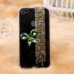 Emerald green Pearl Butterfly  iPhone 5  case 3D case by dnnayding, $23.99