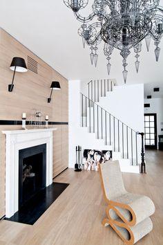 Modern home showcasing grandeur and drama in Warsaw