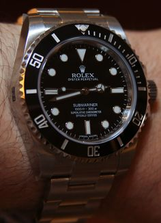 Rolex Submariner 114060 'No Date'