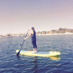 """SUP Yoga Class in Santa Barbara CA. Thank you """"What SUP Yogis"""" for a great experience! #supyoga  #santabarbara by chicagogroupex"""