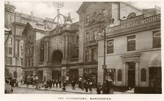 The Hippodrome, Manchester Old Pictures, Old Photos, Old M, Manchester England, Salford, Old Buildings, Louvre, Memories, History