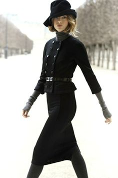 Dior. Black and grey. <3