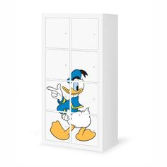DONALD DUCK - IKEA EXPEDIT 8 STICKERS