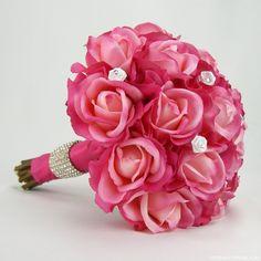 Love letters bouquet, silk bouquet, paper bridal bouquet... Beautiful and unique wedding bouquets by Etsy