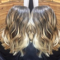 Balayage by Christina at fifthandmae salons in Roswell Ga 678 381 2485 to book appts! #fifthandmaesalons @xtinahairdesigns