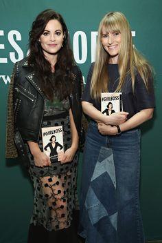 Sophia Amoruso and Teen Vogue EIC Amy Astley talk Famous Entrepreneurs, Sophia Amoruso, Yesterday And Today, Teen Vogue, Business Class, Business Ideas, Polyvore Outfits, Nasty Gal, Girl Boss