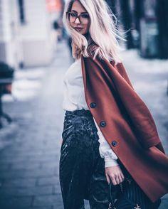 Viu Eye Wear Brille Blondine Girl Velvet Samt Hose