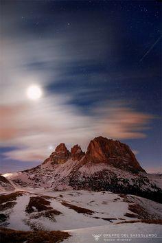 Gruppo del Sassolungo (Passo sella) Alto Adige