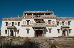 Temple at Kharakorim Monastery in Central Mongolia by jitenshaman, via Flickr
